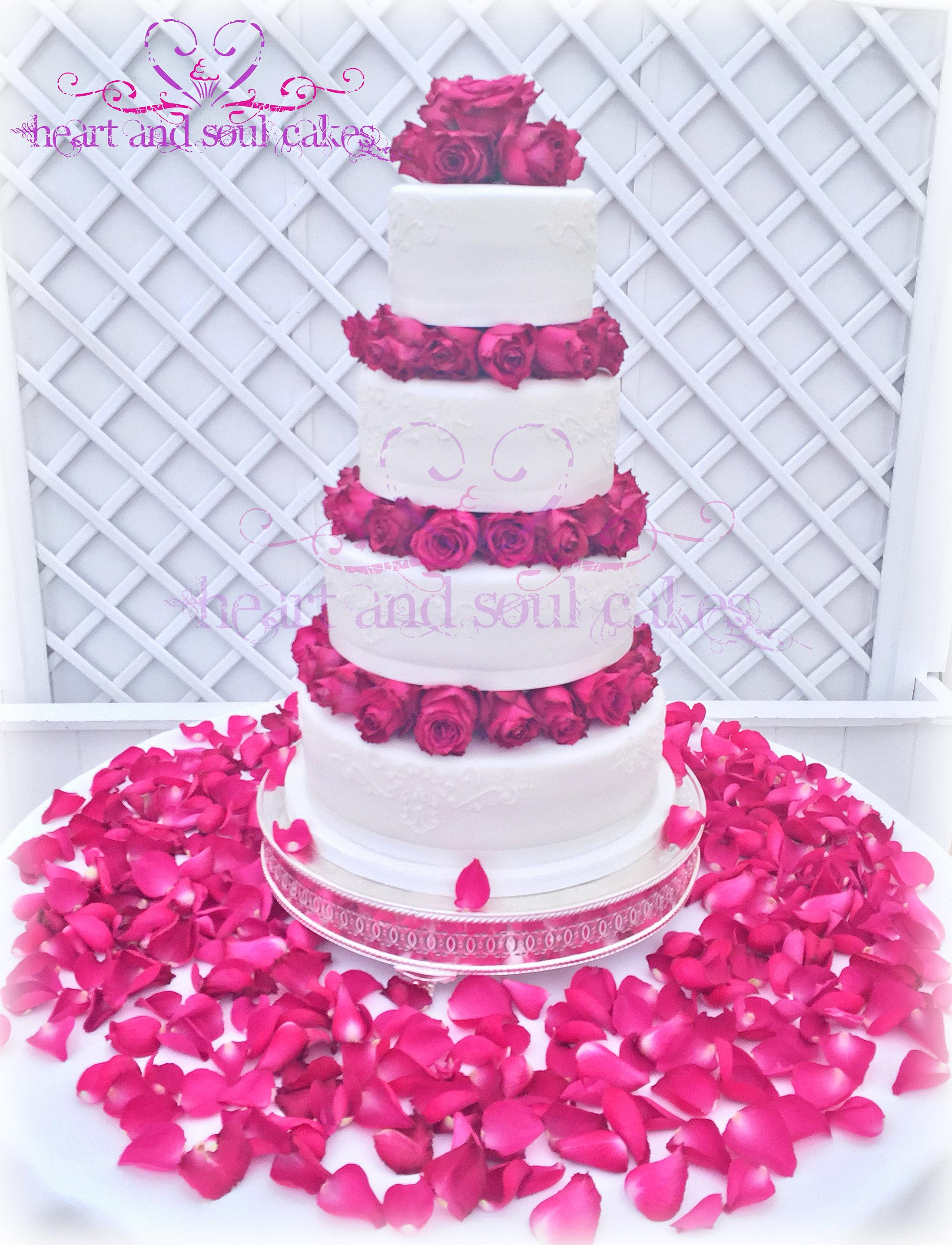 Heart Layer Cake