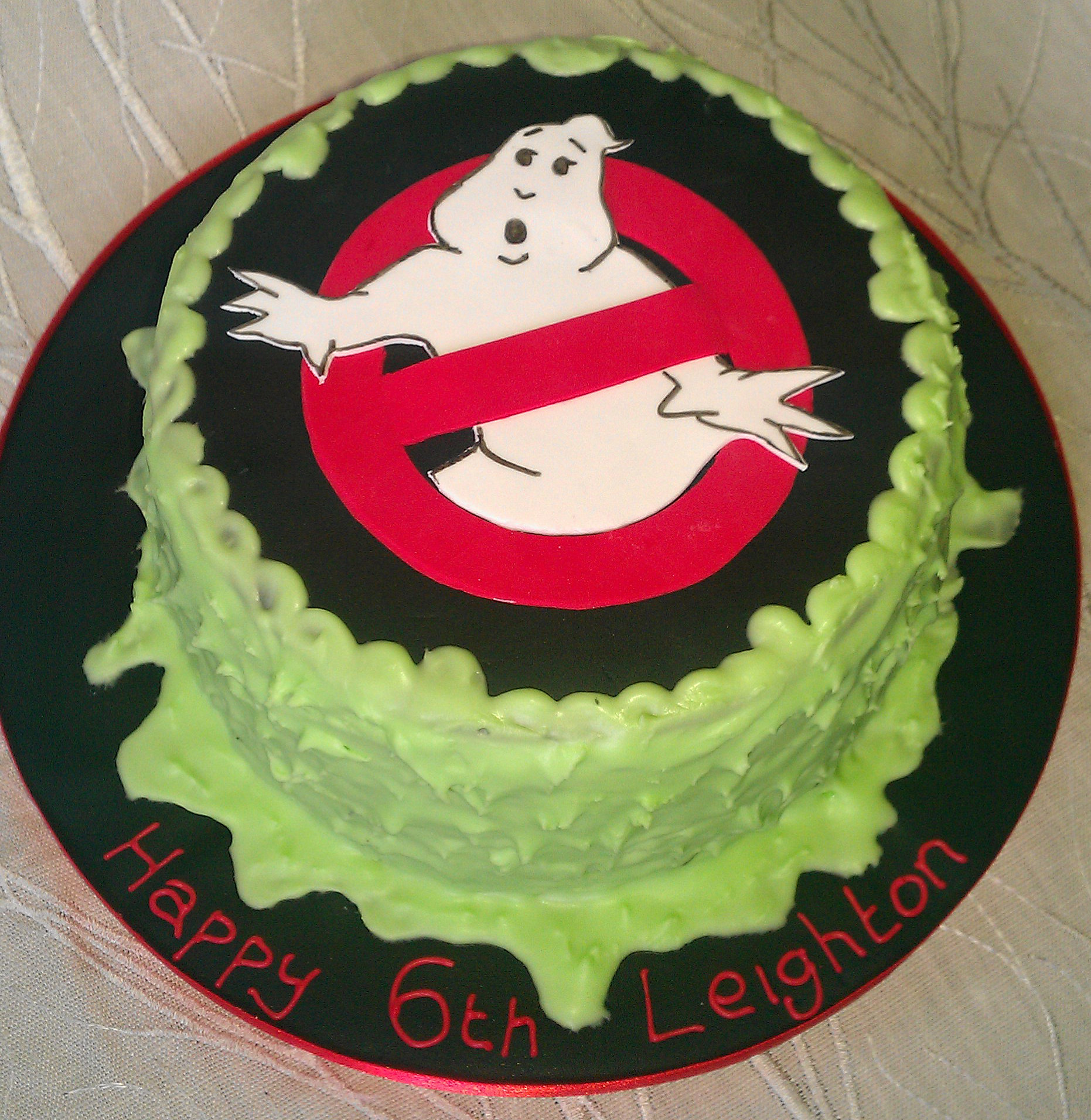 Ghostbuster Cake Images