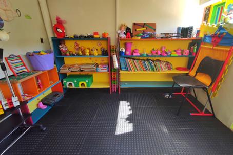 Brinquedoteca da Escola Infantil Vila das Letras Berçário Educação Infantil