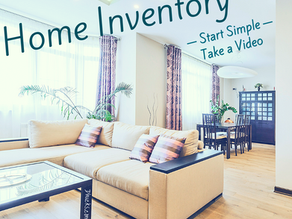 Creating your Home Inventory is easier than you think