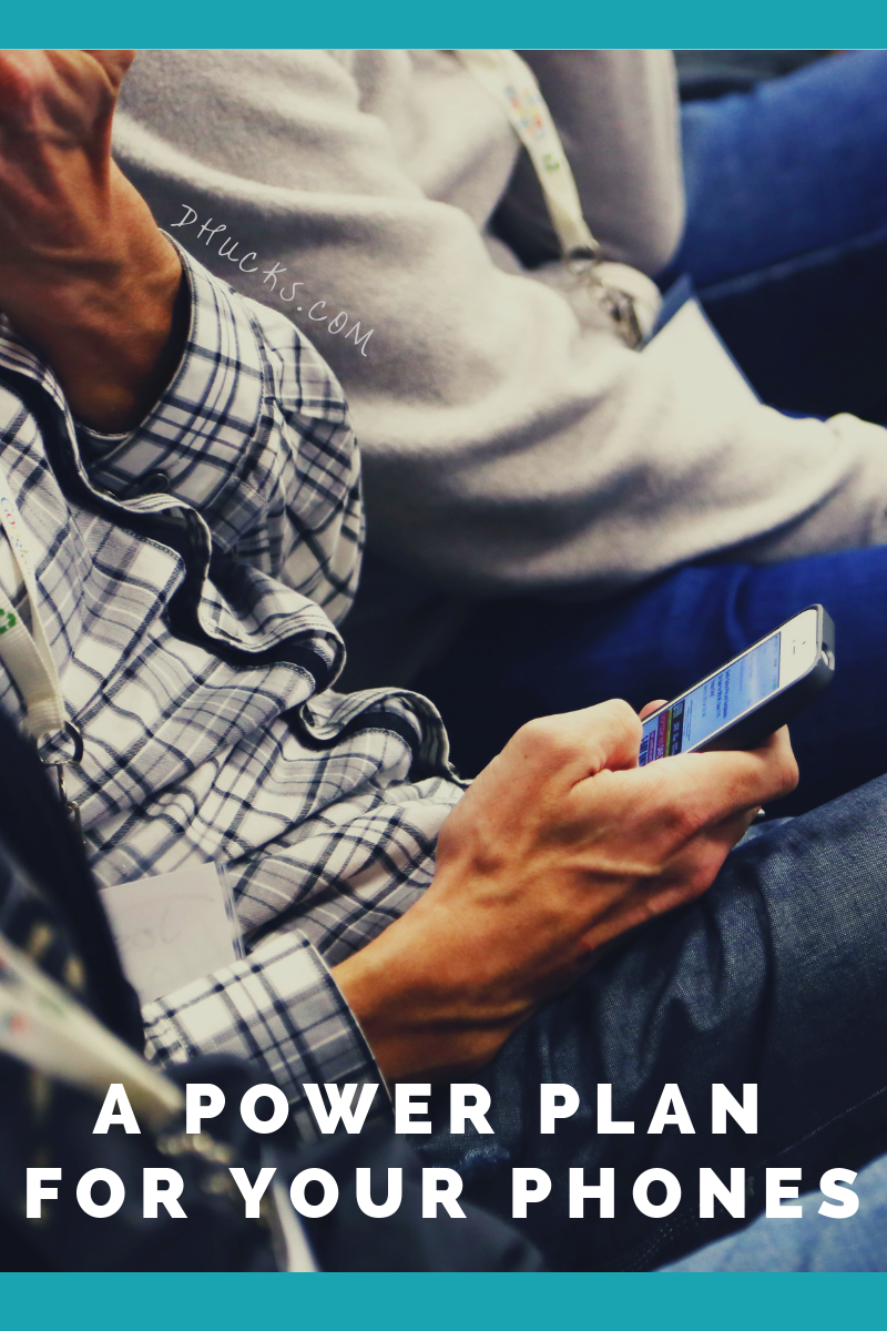 Build a Power Plan for Your Phones