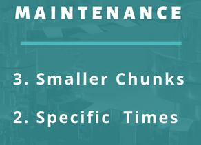 3 Strategies to Make Maintenance Easier