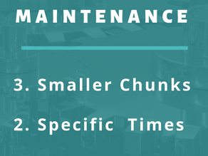 3 Strategies to Make Maintenance Easier