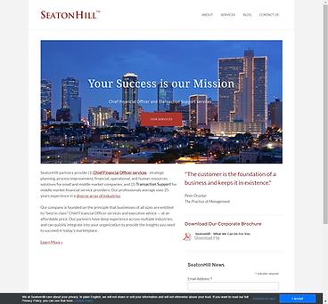 SeatonHill website