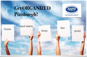 Get Organized Pittsburgh! hosted by NAPO Pittsburgh