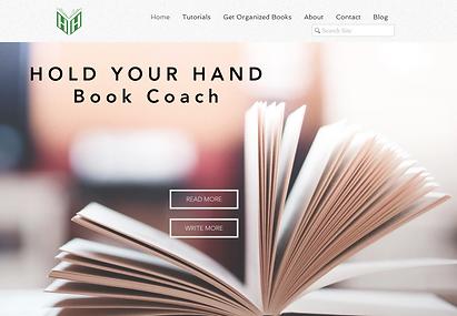 HYH Book Coach website