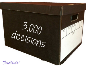 file box could hold 3000 decisions