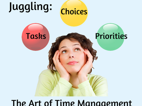 Juggling: The Art of Time Management