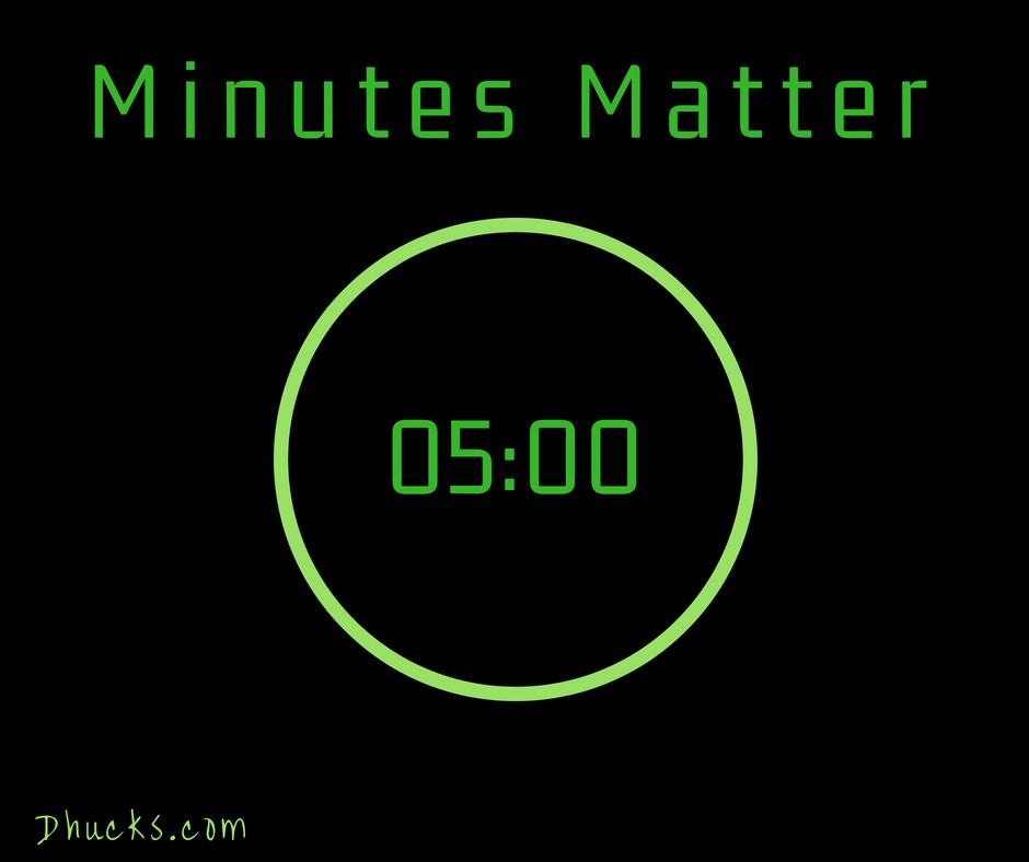 Minutes Matter - set a timer