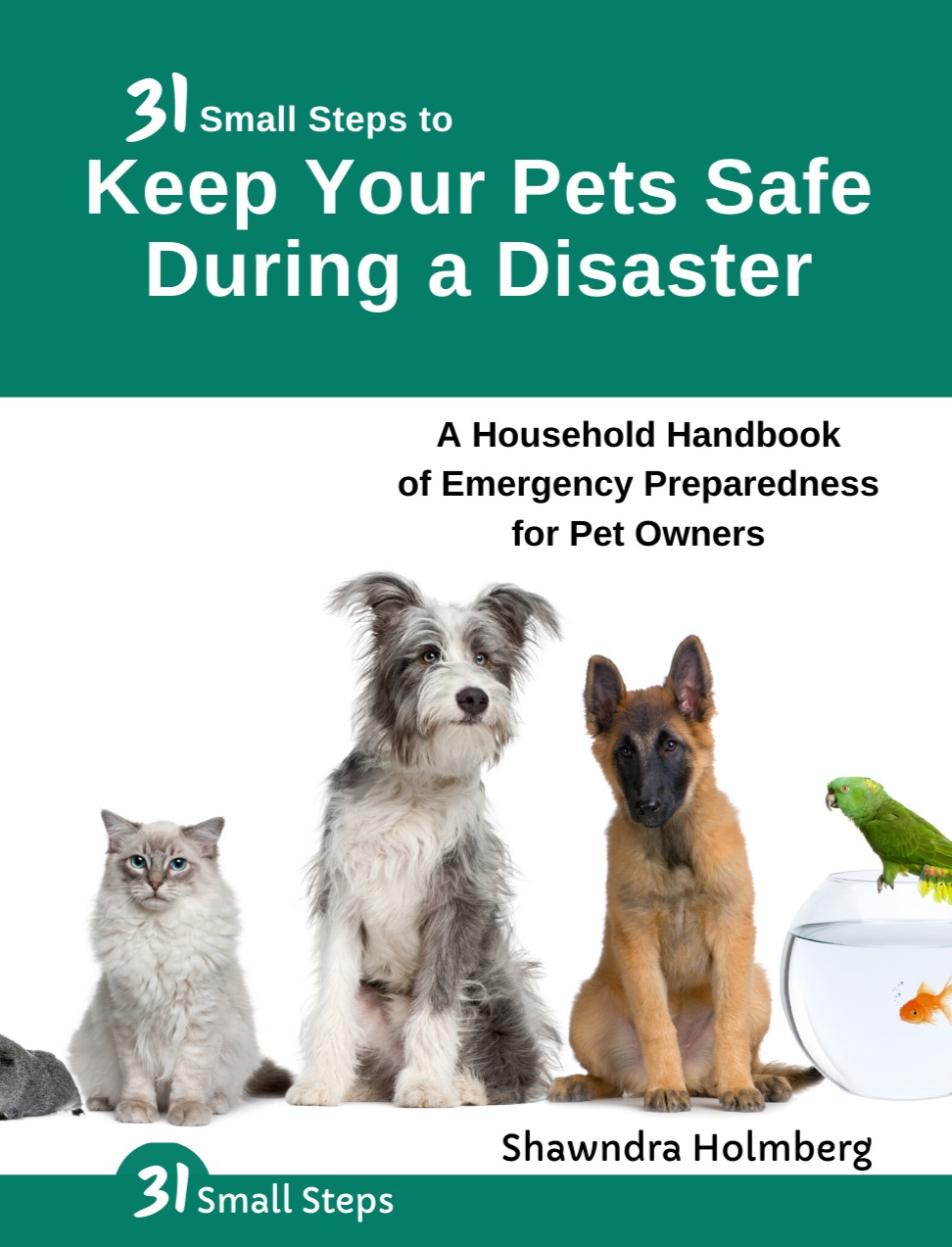 31 Small Steps to Keep Your Pets Safe During a Disaster by Shawndra Holmberg