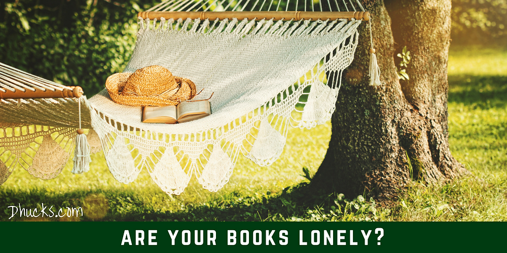 sorting your books? consider whether your books are lonely for someone to read and discover them
