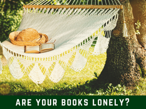 Are your books lonely?