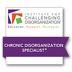 Level II_Chronic Disorganization Badge.p