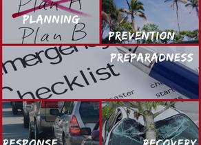 Disaster, Emergency, or just the Unexpected — Be Prepared