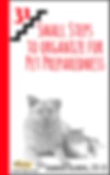 Next Book: 31 Small Steps to Organize for Pet Preparedness
