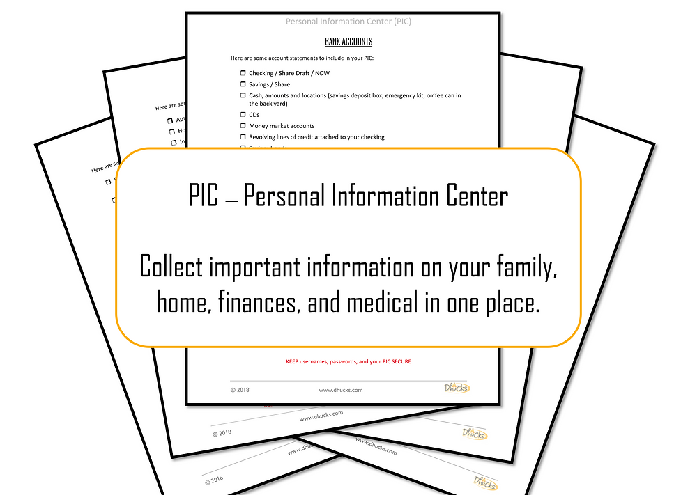 PIC - Personal Information Centr
