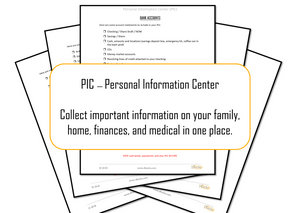 PIC -- Personal Information Center