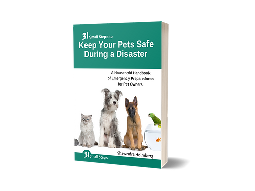 Keep Your Pets Safe During a Disaster (PRINT)