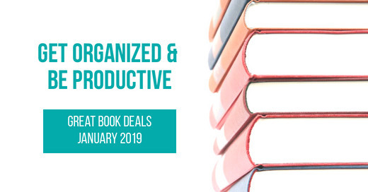 Get Organized & Be Productive with these great book deals during January 2019