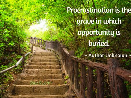5 Strategies to Stop Procrastinating