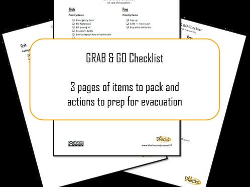 Grab & Go Checklist