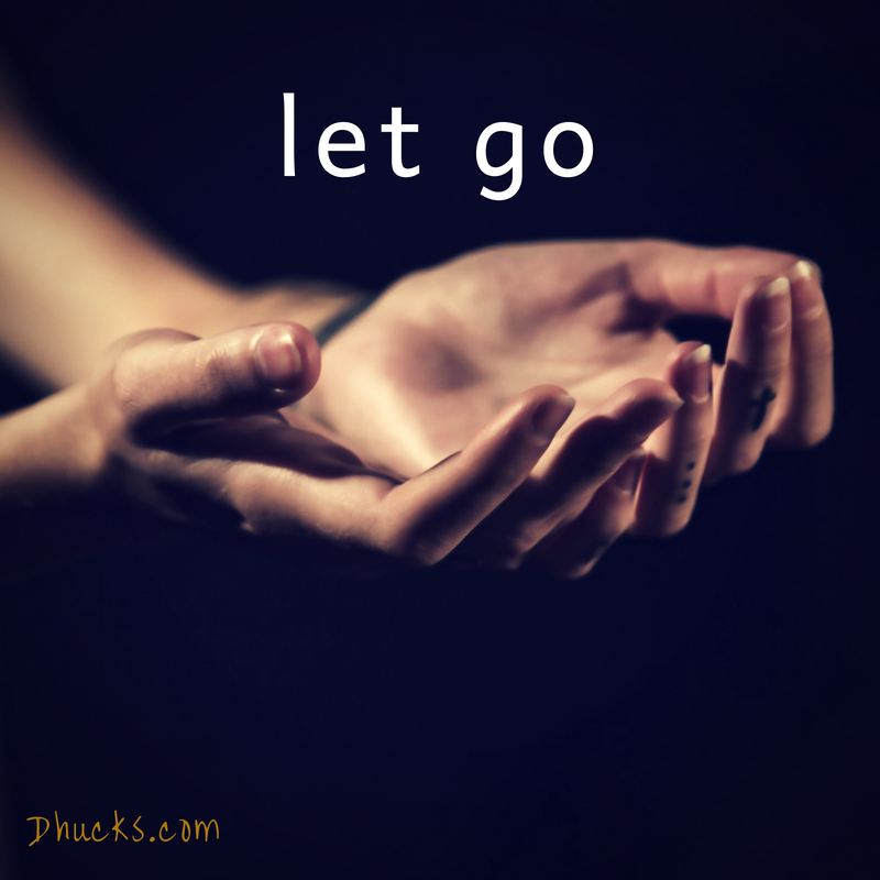 LET GO (Stage 2 to Getting Organized)
