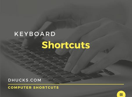 The 3 Keyboard Shortcuts You Need