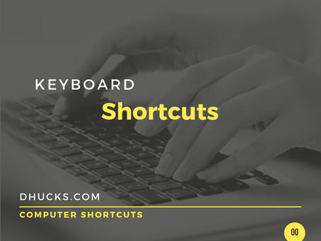 The 3 Keyboard Shortcuts You Need
