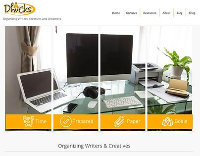 Dhucks website - Organizing & Productivity
