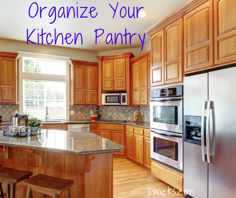 Organize Your Kitchen Pantry - image of kitchen