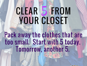 Clear 5 from your closet