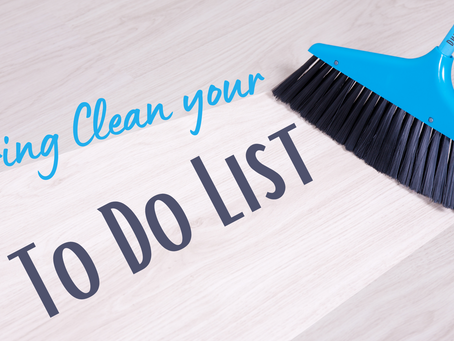 Spring Clean your To Do List