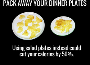 Pack away your dinner plates