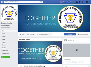 Pennsylvania Volunteers Facebook Page