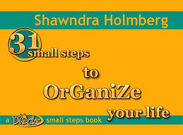 31 Small Steps to Organize You Life by Shawndra Holmberg