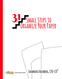 31 Small Steps to Organize You Paper
