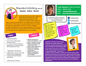 Shawndra Holmberg Speaker One Sheet