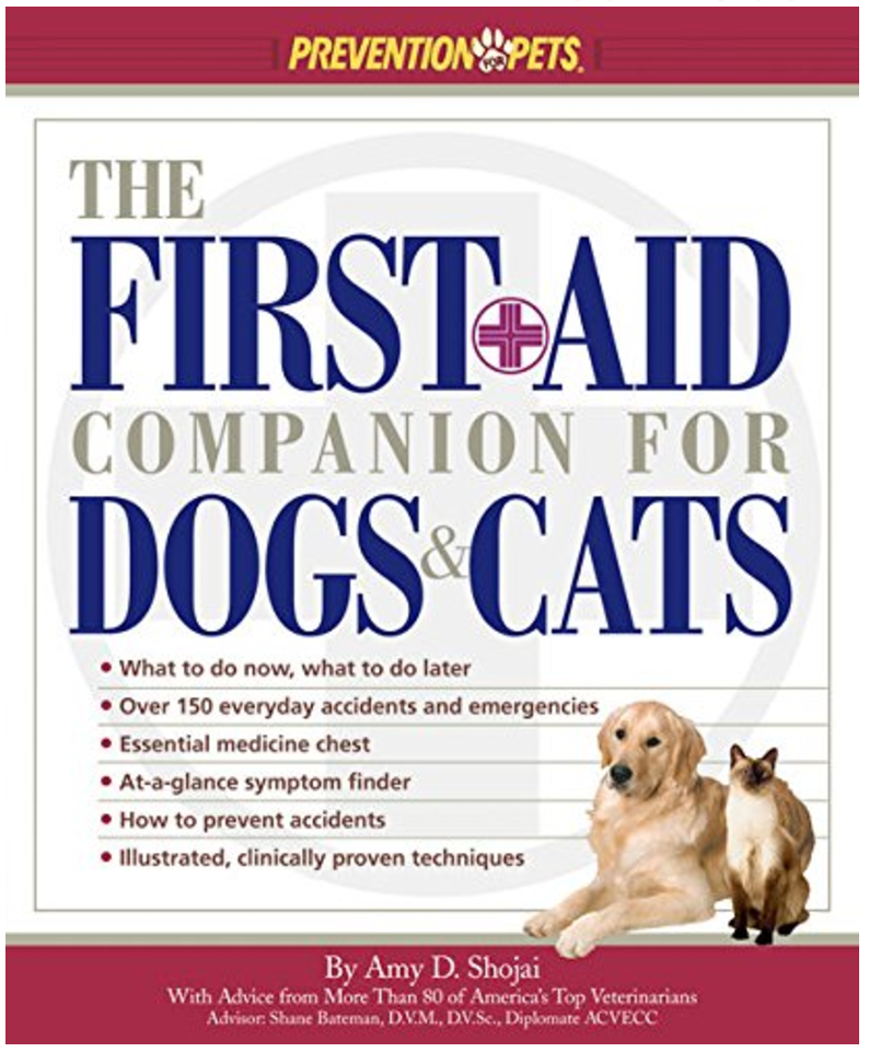Available from Amazon - The First Aid Companion for Dogs & Cats