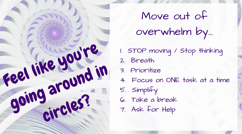 move out of overwhelm