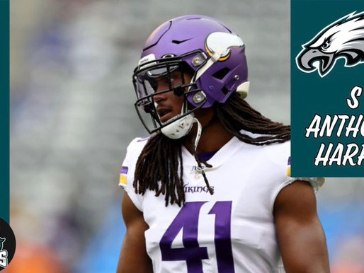Eagles sign safety Anthony Harris to one-year deal