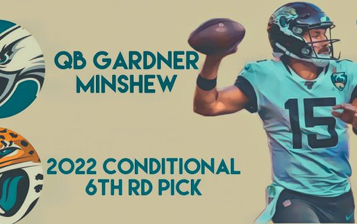 Eagles trade conditional 6th round pick for Jaguars QB Gardner Minshew