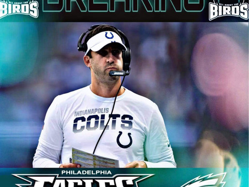 Breaking: Eagles hire Colts' OC Nick Sirianni to be new head coach