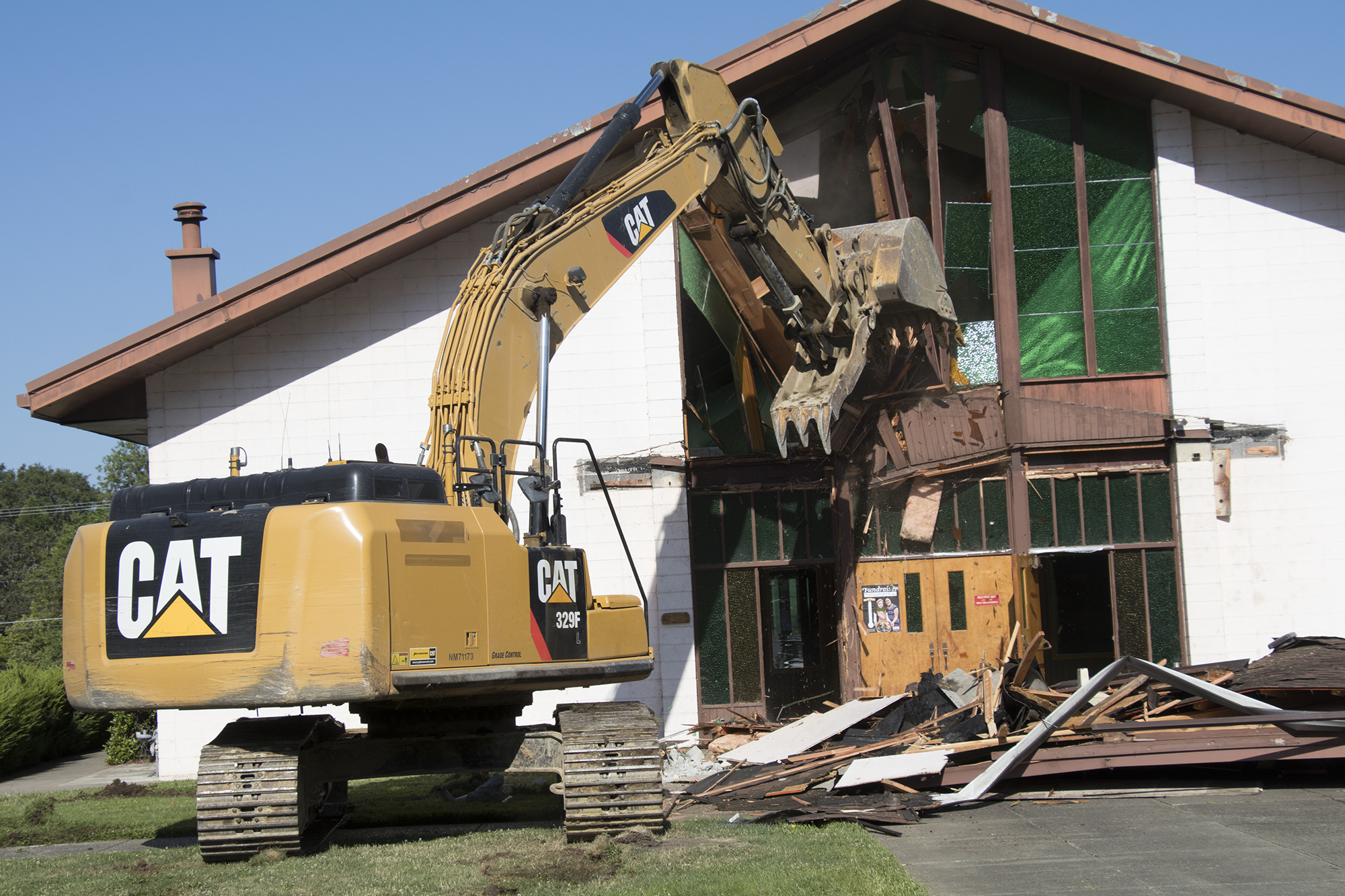 Demo-Excavator