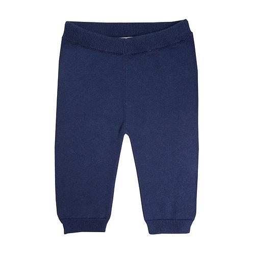 Pantalon Maille Marine - La Petite Collection