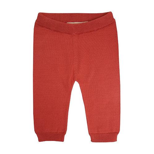 Pantalon Maille Rouille - La Petite Collection