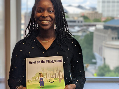 Conversation with Shanice McLeish from the United States - author of 'Grief on the Playground'