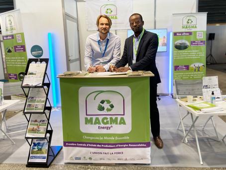 Partenariat MAGMA Energy® / Biogasview