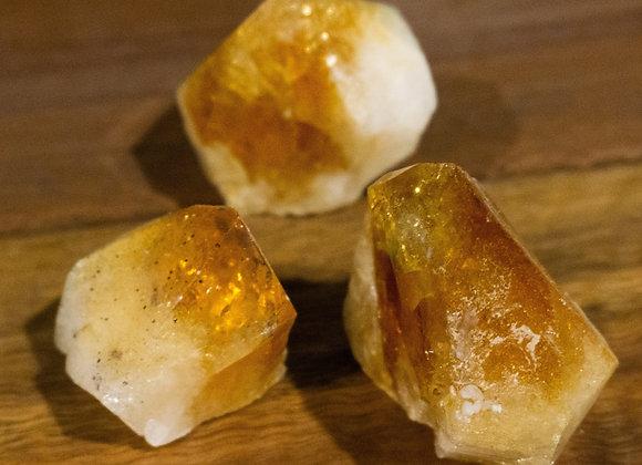 Citrine Crystal Points