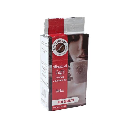 Caffe' Toscano Red Quality 250gr