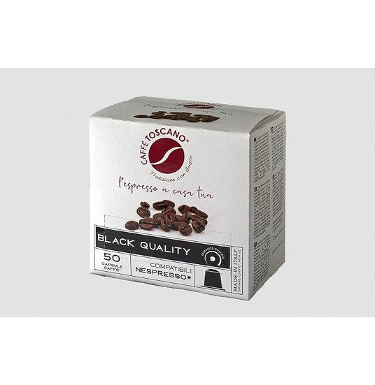 Caffe' Toscano Nero Nespresso Capsules